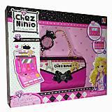 Косметика в сумочке «ChezNinio», 77016A, детские игрушки