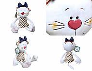 Игрушечный кот «Бьянка», К387В, купить