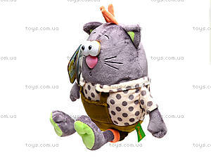 Плюшевый кот «Мурлик», К386В, купить