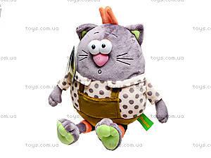 Плюшевый кот «Мурлик», К386В, цена