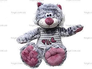 Большой плюшевый кот «Мурзик», К337С, игрушки
