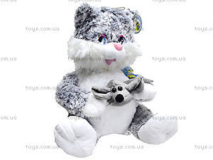 Игрушечный кот с мышкой, 1295630, купить