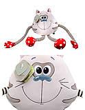 Мягкая игрушка «Котик Смайлик», К423С, фото