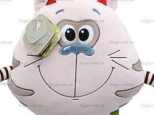 Мягкая игрушка «Котик Смайлик», К423С, отзывы