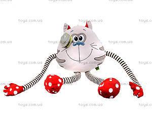 Мягкая игрушка «Котик Смайлик», К423С, цена
