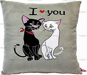 Декоративная подушка «Котики», ПШК0