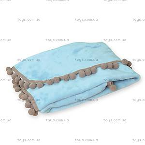 Детское одеяло Bombi, голубое, 0204-24