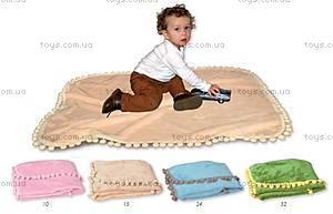 Детское одеяло Bombi, голубое, 0204-24, купить