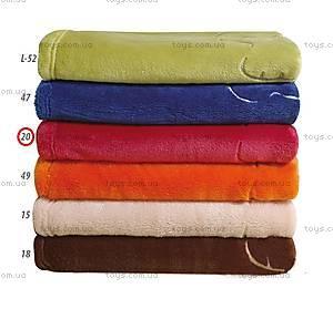Одеяло из микрофибры «Пушистик», бордо, 0179-20