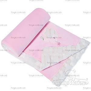 Детский плед Lambs, розовый, 0202-10