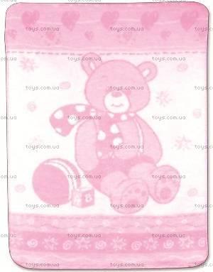 Детское одеяло Turtus 75х100 см, розовое, 0139-10