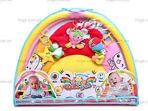 Коврик для детей с погремушками, 289-13A, детские игрушки
