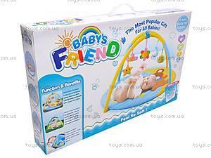 Коврик для малышей  «Мишка», B01103, toys.com.ua
