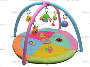 Коврик для малышей, с дугой и сумкой, 898-23B
