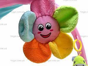 Коврик для малышей, с дугой и сумкой, 898-23B, магазин игрушек