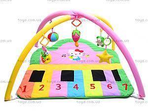 Коврик для малышей, с погремушками, 289-8A, цена