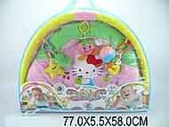 Коврик для малышей, с погремушками, 289-8A, фото
