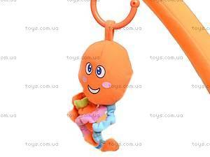 Коврик для малышей, с погремушками на дуге, 898-26B, игрушки