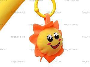 Коврик для малышей, с погремушками на дуге, 898-26B, детские игрушки