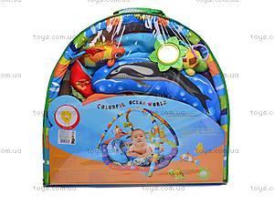 Коврик музыкальный с погремушками, PM80701, фото