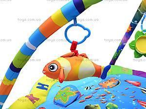 Коврик музыкальный с погремушками, PM80701, детские игрушки