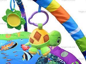 Коврик музыкальный с погремушками, PM80701, магазин игрушек