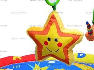 Коврик мягкий с погремушками, PM90101, детские игрушки