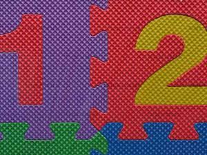 Коврик-пазл «Цифры», CYB-1236, цена