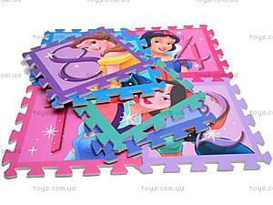 Коврик-пазл Princess с цифрами, FS-624
