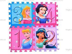 Коврик-пазл Princess с цифрами, FS-624, цена