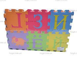 Коврик-пазл «Русский алфавит с животными», JC-678AA, купить