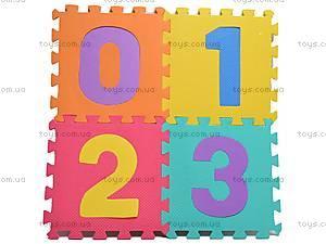 Коврик-пазл с цифрами, CB-102, игрушки