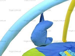Коврик с погремушками «Зайчик», WJ6985, фото