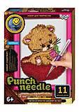 """Ковровая вышивка """"Punch needle: Котёнок"""" , PN-01-01,02,0"""