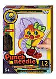 "Ковровая вышивка ""Punch needle: Уточка"" , PN-01-01,02,0"