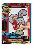 """Ковровая вышивка """"Punch needle: Зайка"""" , PN-01-01,02,0, детские игрушки"""