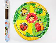 Коврик для малышей круглый, ZD368-6101113