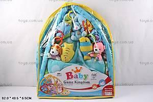 Коврик для малышей с погремушками, 615