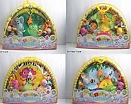 Коврик для малышей с погремушками на дуге 4 вида, 518-02346, отзывы