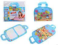 Детский коврик для рисования с маркером, 71500-1, фото