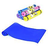 Коврик для йоги, 4 мм синий (C36548), C36548, toys.com.ua