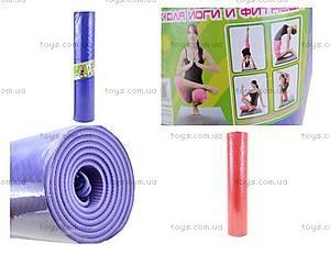 Коврик для йоги и фитнеса, MS0614