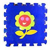 Коврик-пазл «Цветочек» 9 элементов, HK019, фото
