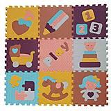 Коврик-пазл для детей «Интересные забавы», 92х92 см, GB-M1601