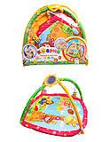 Коврик с погремушками для малышей, 898-210B, отзывы