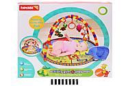Коврик с погремушками для малыша, FC081, магазин игрушек