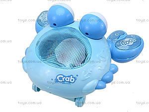 Музыкальный краб «В синем море», 7557, игрушки