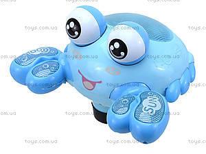 Музыкальный краб «В синем море», 7557, детские игрушки