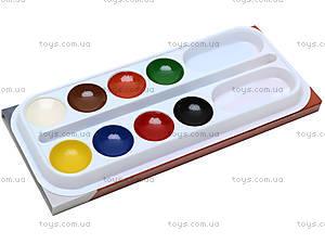 Краски акварельные медовые, 8 цветов, PLAB-US1-PNT-BOX8, купить