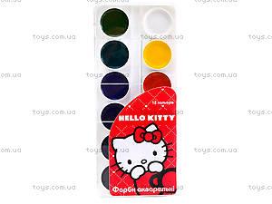 Краски акварельные Hello Kitty, HK13-061K, цена